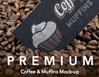 Coffee & Muffins Mock-up