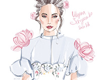 Ulyana Sergeenko SS18