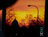 Hiver Sunset