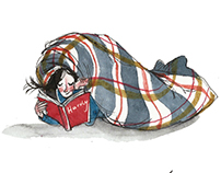 wearing a blanket: an illustrated guide