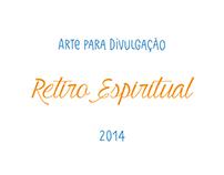 Arte para Retiro Espiritual - Maio 2014