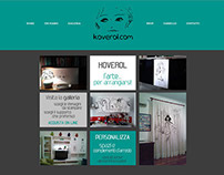 Koverol - web design, e-shop