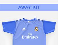 Real Madrid Football Kit 18/19.
