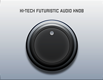 Hi Tech Futuristic Audio Knob