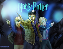 Harry Potter - Postcard