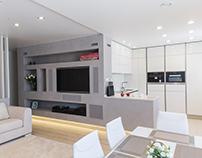 Дизайн-проект квартиры 110 кв.м.
