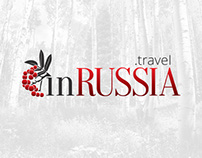 inRUSSIA - Corporate Identity & Website Design