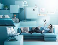 Ideo Condominium Sale Promotion Retouching