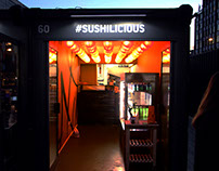 Sushilicious Restaurant Interior - Shoreditch, London