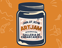 Galleria De Embarcadero: Art Jam 2018