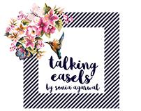 Branding & Identity - Talking Easels
