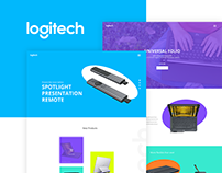 Logitech | Website Concept
