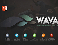 Wava | Powerpoint & Keynote Presentation Template