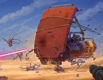 ILM contest (phase II «The Ride»)