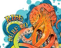 Rise Surf Octopus