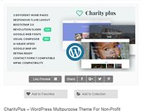 CharityPlus Multipurpose WordPress Theme