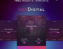 NeoDigital Template free