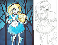 Alice In Wonderland - MH collaboration with toown