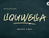 Liquwella Brush Font - FREE