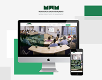 New Website Design for Mokra Gora School of Management