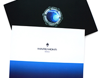 Advertising catalogs for swiss watch brand Mare Monti.