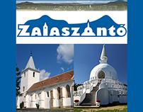 Zalaszántó - village logo (Hungary)