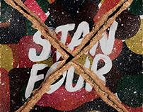 """Stanfour Album Cover """"4"""""""