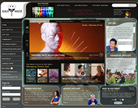 Cable Network Website Design (circa 2008)