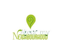 About My Neighbourhood logo design