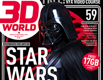 3d World Darth Vader