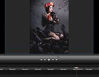 Speed photomanipulation videos