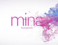 Intro video Mina Ilustraciones