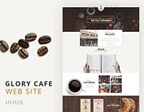 """Glory cafe"" Web site"