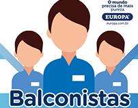 Campanha Balconistas - Purificadores Europa