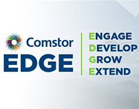Comstor Edge Site mockup and development