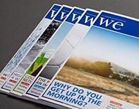 WE Magazine - Redesign