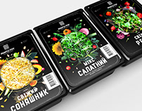 Packaging for Microgreen