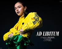 AD LIBITUM Scorpio Jin Magazine