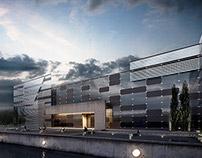MBrender_Archviz_2015_Office building at the lake