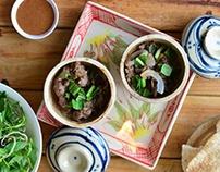 cách làm Bò Quanh Lửa Hồng– Claypot Grilled Beef