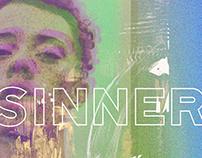 I'm A Sinner | Collage Art