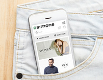 Simons Mobile Website