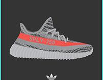YEEZY SUPLY-350 - Sneaker Art.