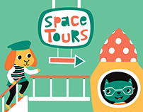 Space Tours - Affinity Designer Project