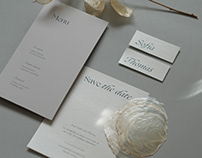 wedding stationery – website concept