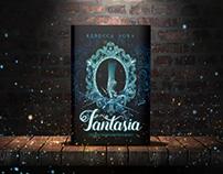 Capa e projeto gráfico do livro Fantasia
