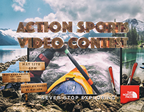 North Face - Video Contest Flyer