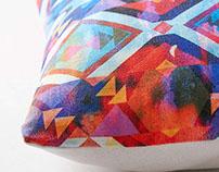 Diamond Fiesta Pillow X Urban Outfitters