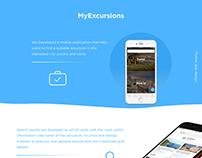 Excursions app