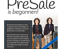 Presale email